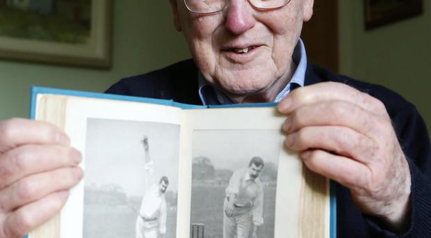 Piece of history: the Rev David Lapsley rediscovered The Jubilee Book of Cricket (Fifth Edition) in his uncle's cottage