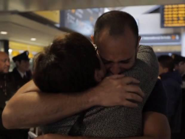 Travis Tolliver, who was stolen from his mother hours after his birth 41 years ago has been reunited with his family. Image: CNN