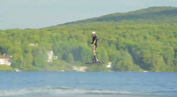 Canadian inventor Catalin Alexandre Duru says hoverboard is capable of flying much higher