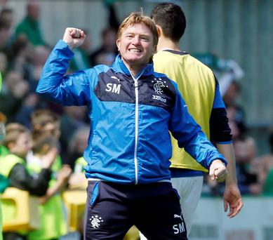 Primed for battle: Gers boss Stuart McCall is gunning for his old club