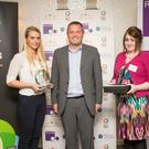 Winners and participants at the Colleges NI awards at the Ramada Hotel Belfast May 2015 Donal McCann Photography
