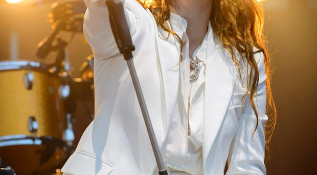 Bouncing back: Florence Welch