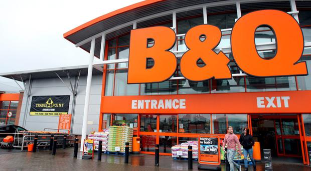 B&Q parent Kingfisher said it was ploughing on with a shake-up of the DIY chain