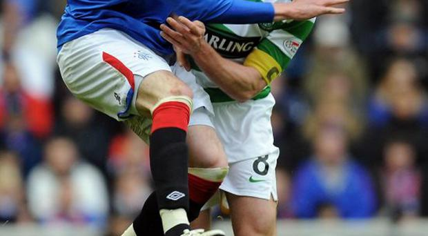 Old foes: Celtic and Rangers have had a long rivalry