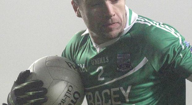 Mature head: Ryan McCluskey is a Fermanagh stalwart