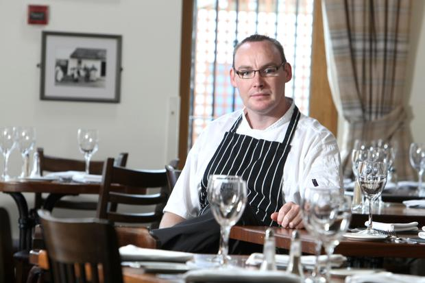 Danny Millar, head chef at Balloo House