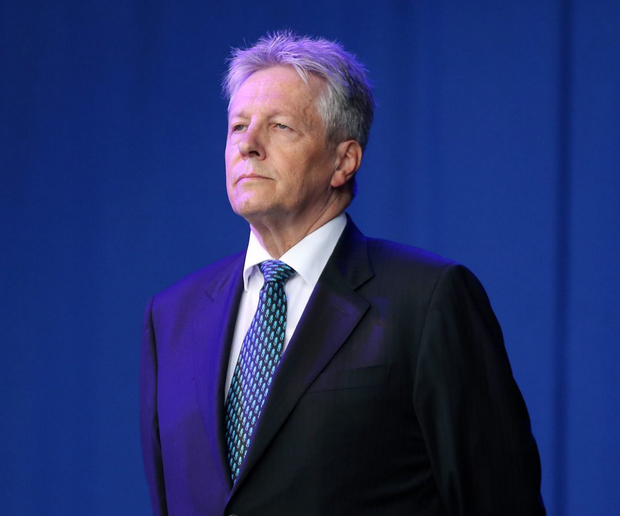 First Minister Peter Robinson appears to be recovering well from a heart attack