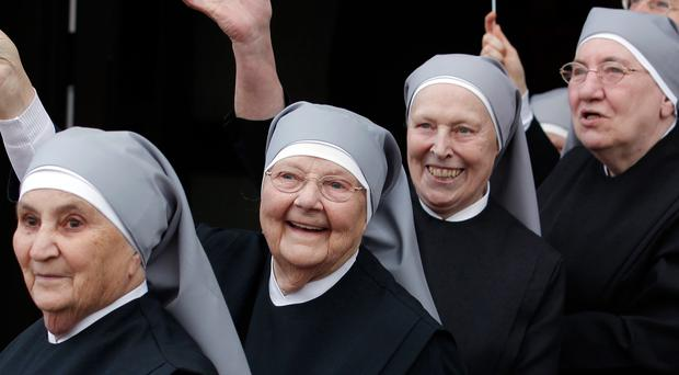 Becoming a nun is a six-year process