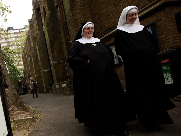 15 of those joining convents last year were aged under 30