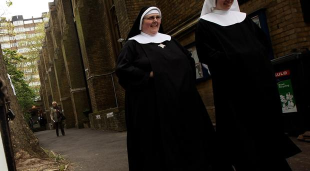 The nuns said they 'prayed so much' for someone to rescue them. File image