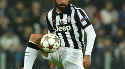 Andrea Pirlo is a crucial part of the Juventus midfield