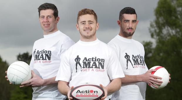 Sports stars Sean Cavanagh, Paddy Jackson and Joe Gormley are backing the campaign