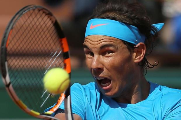 Rafael Nadal's king of clay crown slipped as Djokovic underlined his status as the world number one (AP Photo/David Vincent)