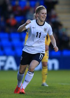Dropped: Ian Dowie's niece, England player Natasha Dowie, has been left at home by England boss Mark Sampson