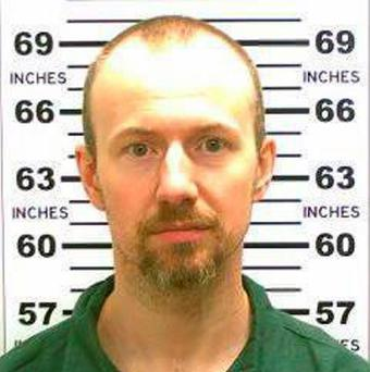 Photo released by the New York State Police shows David Sweat. On Saturday, June 6, 2015, authorities said 48-year-old Richard Matt and 34-year-old Sweat, both convicted murderers, escaped from the Clinton Correctional Facility in Dannemora, N.Y. (New York State Police via AP)