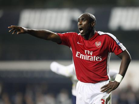 Former Arsenal football player Sol Campbell