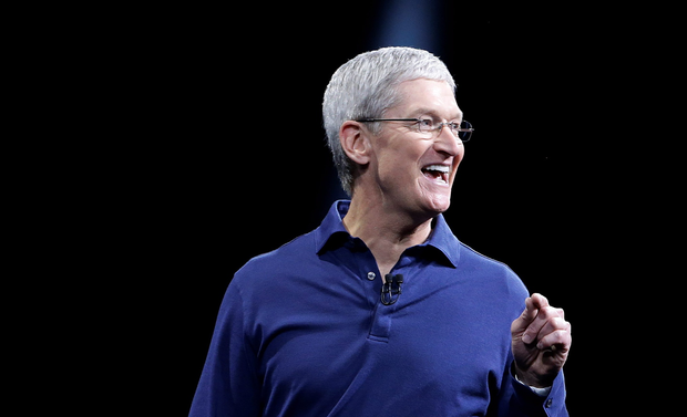 Apple CEO Tim Cook speaks at the Apple Worldwide Developers Conference in San Francisco, Monday, June 8, 2015. As part of new 'reproductive health' tracking, iPhones can track when exactly you had sex and whether they used protection (AP Photo/Jeff Chiu)