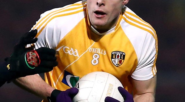Rested: Mark Sweeney says a break has rejuvenated Antrim