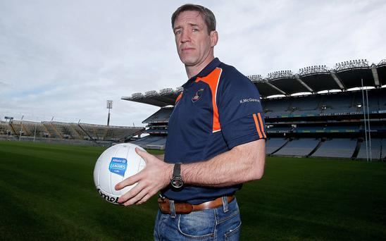 Wary: Kieran McGeeney knows mistakes could cost Armagh