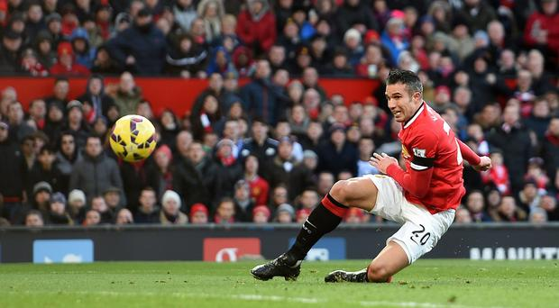 United striker Robin Van Persie will not be moving to the Italian side despite speculation.