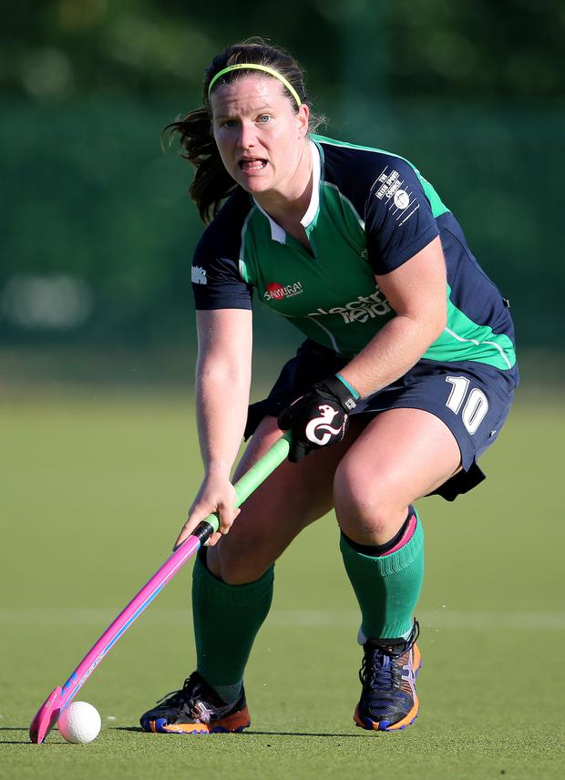 Caps fit: Shirley McCay will win her 200th Ireland cap