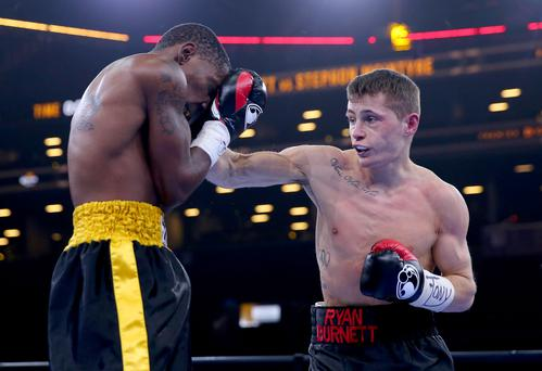 Title boost: Ryan Burnett has been lined up for a British bantamweight eliminator