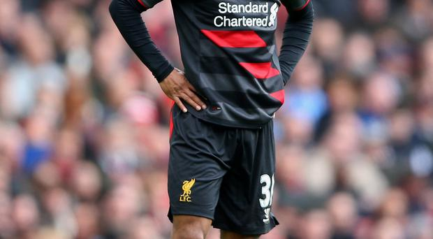 Wanted man: Liverpool have turned down a £25m offer from Manchester City for England forward Raheem Sterling