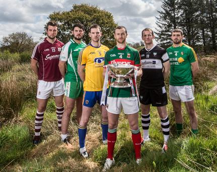 Prize fighters: Galway's Paul Conroy, Martin Carroll of London, Roscommon's Niall Carty, Sligo's Mark Breheny, Leitrim's Sean McWeeney and Keith Higgins of Mayo are eyeing silverware in Connacht