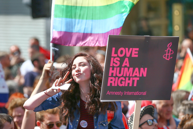 Saturday 13th June 2015 - Amnesty International March for Equality