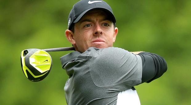 American dream: Rory McIlroy won the US Open at Congressional in 2011, a year after Graeme McDowell