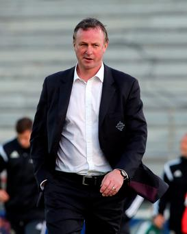Heat is on: Michael O'Neill expects his players to cope when crunch time comes