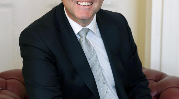 Jonathan Bell, minister with responsiblity for the tourism industry