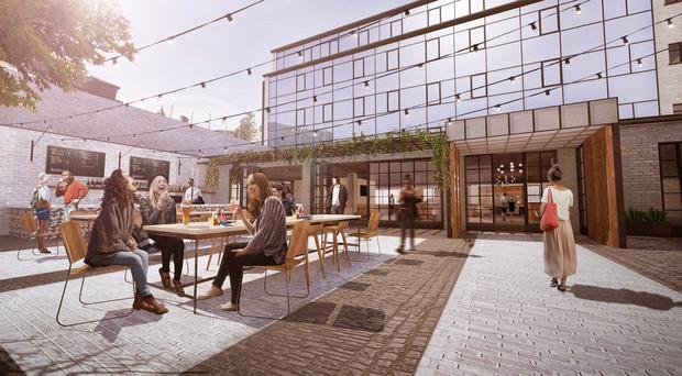 Artist impression: The Beannchor Group has announced plans to open a new Belfast hotel in early 2016.