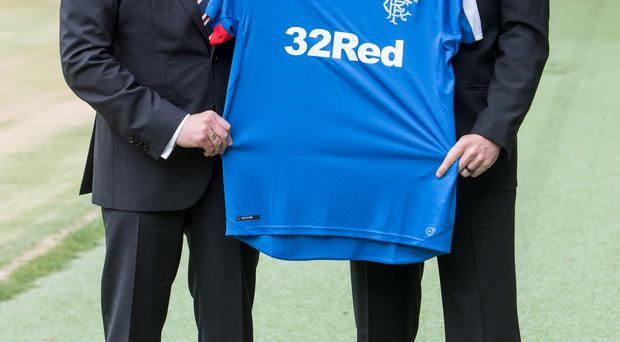 The new Ibrox management team, including manager Mark Warburton (left), and assistant manager David Weir (right), has been joined by new managing director, Stewart Robertson