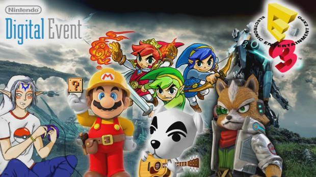 E32015: updated old games dominate announcements, as Nintendo brings back Zelda, Mario, Star Fox and Animal Crossing