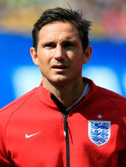 Footballer Frank Lampard is off to play in the US