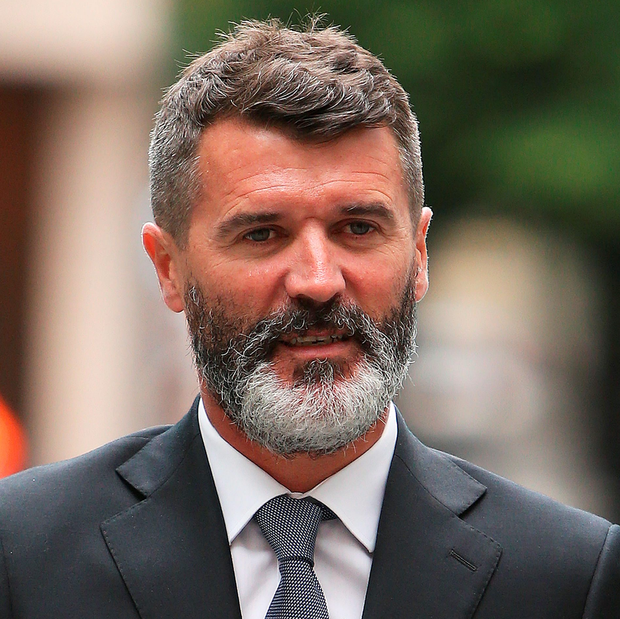Ex-Manchester United footballer Roy Keane arrives at Manchester Magistrates' Court, where he will go on trial over an alleged road-rage incident with taxi driver Fateh Kerar.