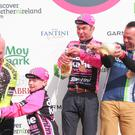Mark Kane, winner of the Gran Fondo Giro d'Italia. Pic: Kevin Scott/Presseye.