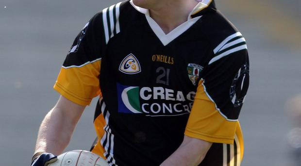 CJ McGourty was dropped from the Antrim senior team on Saturday after taking part in a club match the previous night