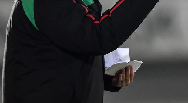 Eddie Patterson's Glentoran will discover their Europa League opponents in the draw today