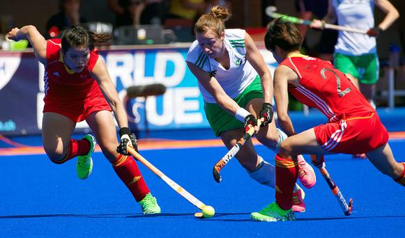 Out of steam: Megan Frazer could not inspire her side over the weekend as they were beaten by America and South Africa