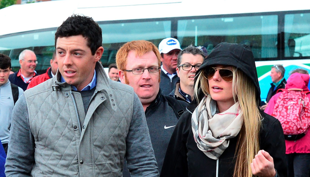 Rory McIlroy with new girlfriend Erica Stoll