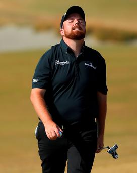 Decent effort: Shane Lowry was in the mix on Sunday