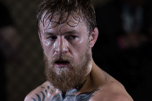 LAS VEGAS, NEVADA - MAY 21: Conor McGregor holds an open workout session for the media at the TUF gym on May 21, 2015 in Las Vegas Nevada. (Photo by Brandon Magnus/Zuffa LLC/Zuffa LLC via Getty Images)