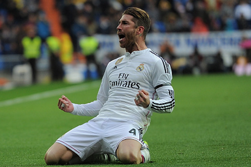Sergio Ramos of Real Madrid is being considered by United.