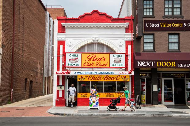Ben's Chili Bowl on U Street: Be sure to try one of their half-smoke chili dogs.