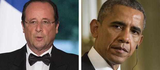 Francois Hollande spoke to Obama after the release of WikiLeaks documents about NSA intercepts