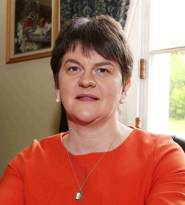 Finance Minister Arlene Foster