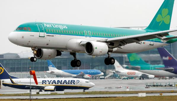The Dublin-based carrier's departure came mid-way through an alleged 10-year deal to fly from Aldergrove. Niall Carson/PA Wire