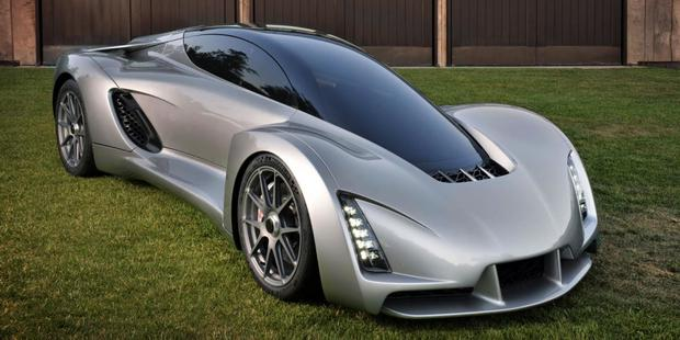 3D-printed Blade supercar by Divergent Microfactories